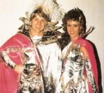 Prinzenpaar der Saison 1987/1988 Prinz Hans I. und Prinzessin Birgit I.