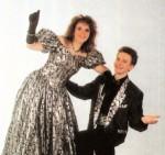 Prinzenpaar der Saison 1993/1994 Prinz Thomas III. und Prinzessin Gabi I.