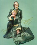 Prinzenpaar der Saison 1998/1999 Prinz Bernie I. und Prinzessin Petra II