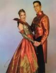 Prinzenpaar der Saison 1999/2000 Prinz Christoph II. und Prinzessin Christiane I.
