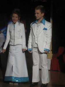 Kinderprinzenpaar der Saison 2007/2008 Prinz Dominik I. und Prinzessin Magdalena I.
