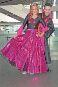 Kinderprinzenpaar der Saison 2008/2009 Prinz Philipp I. und Prinzessin Laura I.