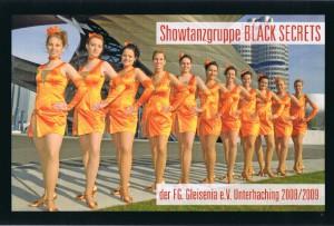 Showtanzgruppe Black Secrets der Saison 2009