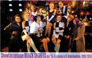 Showtanzgruppe Black Secrets der Saison 2010