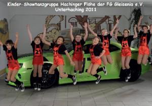 Showtanzgruppe Hachinger Flöhe der Saison 2011