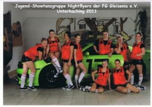 Showtanzgruppe Nightflyers der Saison 2011