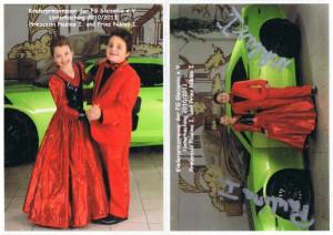 Kinderprinzenpaar der Saison 2010/2011 Prinz Niklas I. und Prinzessin Paulina I.