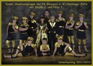 Showtanzgruppe Hachinger Flöhe der Saison 2012