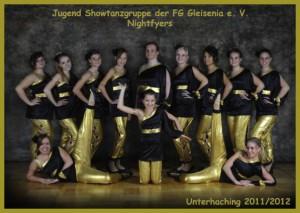 Showtanzgruppe Nightflyers der Saison 2012