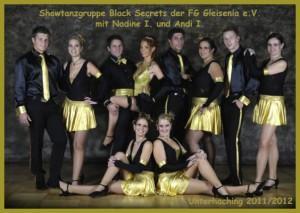 Showtanzgruppe Black Secrets der Saison 2012
