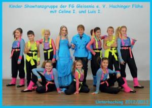 Showtanzgruppe Hachinger Flöhe der Saison 2013