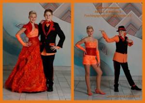 Kinderprinzenpaar der Saison 2014/2015 Prinzessin Melissa I. und Prinz Kevin I.